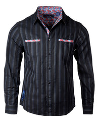 Men's Casual Fashion Button Up Shirt - Won't Get Fooled Again by Rock Roll n Soul