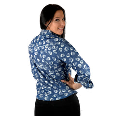 womens long sleeve fashion shirt - Bad Romance by Rock Roll n Soul13