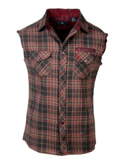Men's Casual Fashion Button Up Shirt - Riff Raff by Rock Roll n Soul