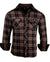 Men's Casual Flannel Fashion Button Up Shirt - Dont take your guns in Blackby Rock Roll n Soul1
