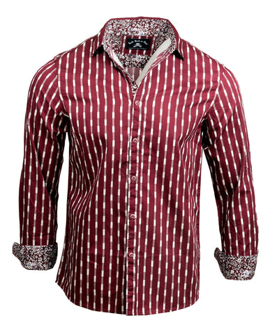 Men's Casual Fashion Button Up Shirt - Abbey Road by Rock Roll n Soul
