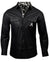 Men's Casual Fashion Button Up Shirt - Hell Bent for Leather by Rock Roll n Soul