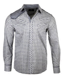 Men's Casual Fashion Button Up Shirt - Station to Station by Rock Roll n Soul