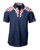 Men's Western Button Up Shirt - S/S Western Dreamers by Rock Roll n Soul