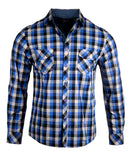 Men's Casual Fashion Button Up Plaid Shirt - Bad Decisions by Rock Roll n Soul