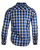 Men's Casual Fashion Button Up Plaid Shirt - Bad Decisions by Rock Roll n Soul2