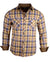 Men's Casual Fashion Button Up Plaid Shirt - Whiskey Lullaby by Rock Roll n Soul1