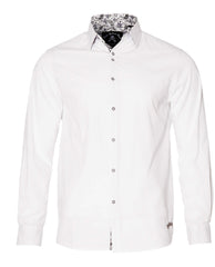 Men's Casual Fashion Button Up Shirt - Love Hate by Rock Roll n Soul1