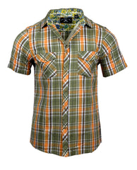 Men's Casual Fashion Button Up Shirt - S/S Boys of Summer by Rock Roll n Soul