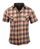 Men's Casual Fashion Button Up Shirt - S/S All Summer Long by Rock Roll n Soul