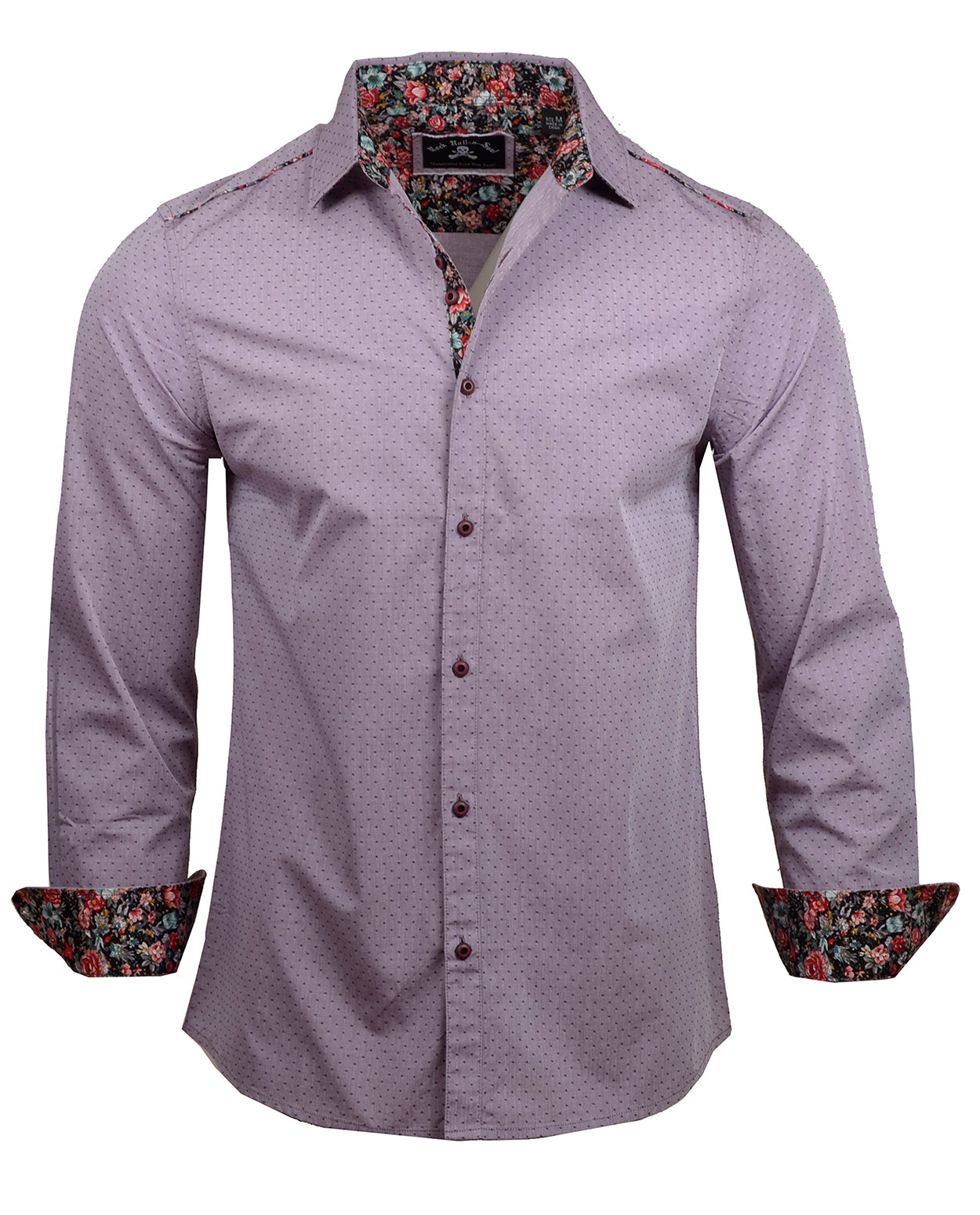 Men's Casual Fashion Button Up Shirt - Heavy California by Rock Roll n Soul