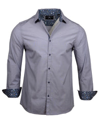 Men's Casual Fashion Button Up Shirt - Your Love by Rock Roll n Soul