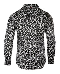 Men's Skull Casual Fashion Button Up Shirt - I'm Your Boogieman by Rock Roll n Soul2