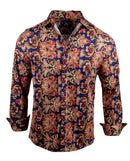 Men's Casual Fashion Button Up Shirt - Fly Away by Rock Roll n Soul1