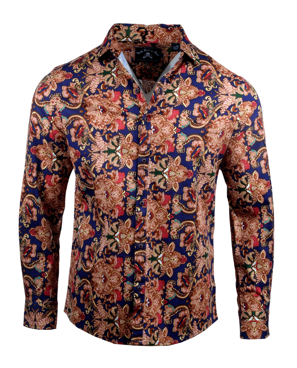 Men's Casual Fashion Button Up Shirt - Fly Away by Rock Roll n Soul