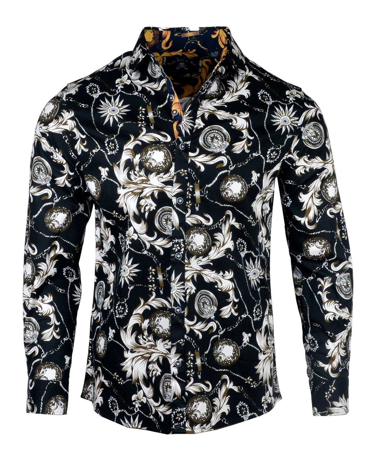 Men's Casual Fashion Button Up Shirt - The Boys are Back in Town by Rock Roll n Soul