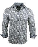 Men's Casual Fashion Button Up Shirt - Surrender  by Rock Roll n Soul1