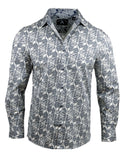 Men's Casual Fashion Button Up Shirt - Surrender  by Rock Roll n Soul