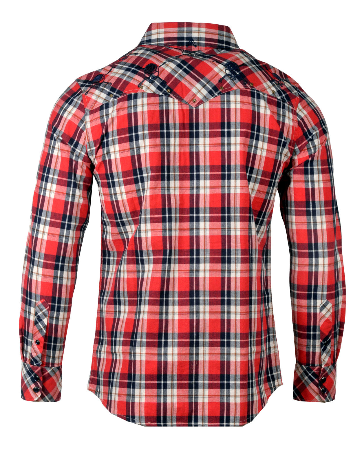 Men's Casual Fashion Button Up Shirt - Red Solo Cup by Rock Roll n Soul
