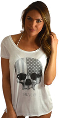 Tee Shirts - Skull by Rock Roll n Soul