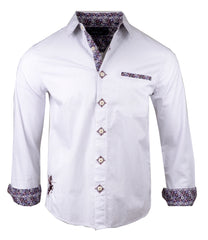 Men's Casual Fashion Button Up Shirt - Pre Order Satisfaction by Rock Roll n Soul