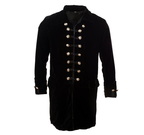 Jacket - Iconic 60's era Velvet Frock Coat by Rock Roll n Soul