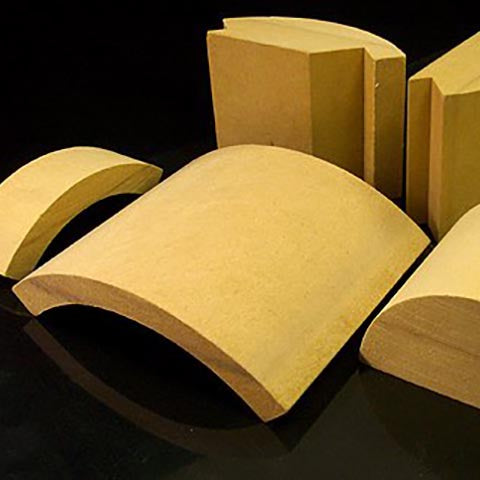 MDF Radius Corners for Fixtures, Cabinetry & Furniture