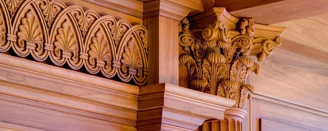 Embellished Hardwood Mouldings