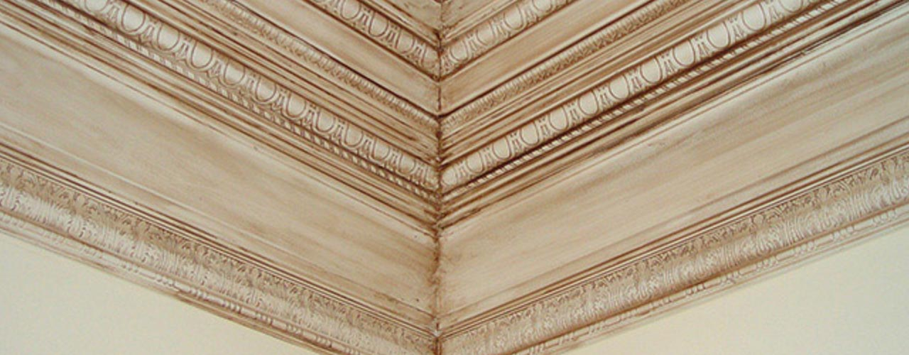 Ornamentally Embossed Base Mouldings
