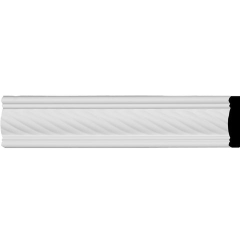 "Classic Alexandria Rope Panel Moulding, 2 3/8""H x 3/8""P x 94 1/2""L"