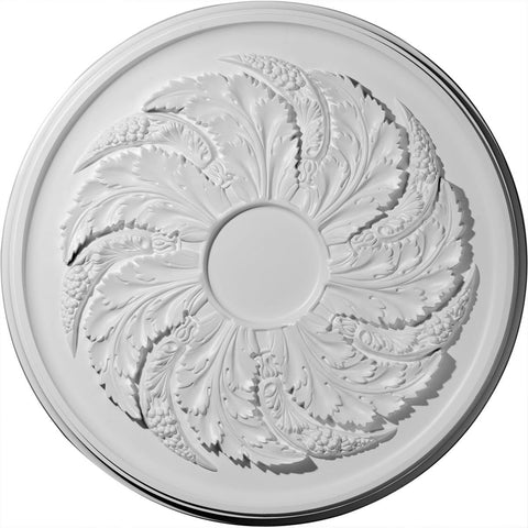 "Ceiling Medallion (Fits Canopies up to 9""), 42 1/8""OD x 1 7/8""P"
