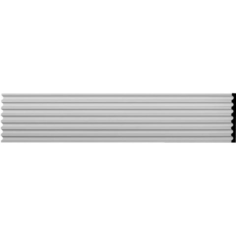 "Reeded Casing, 17 3/4""W x 94 1/2""H x 1 1/2""D"