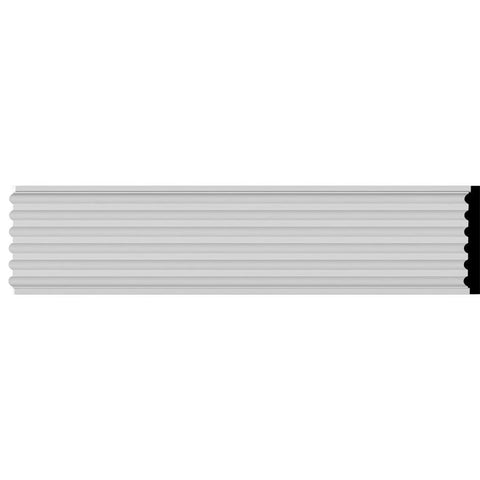 "Reeded Casing, 9 1/2""W x 78 3/4""H x 1 3/8""D"