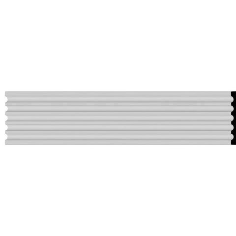 "Fluted Casing, 12 5/8""W x 78 3/4""H x 1 1/8""D"