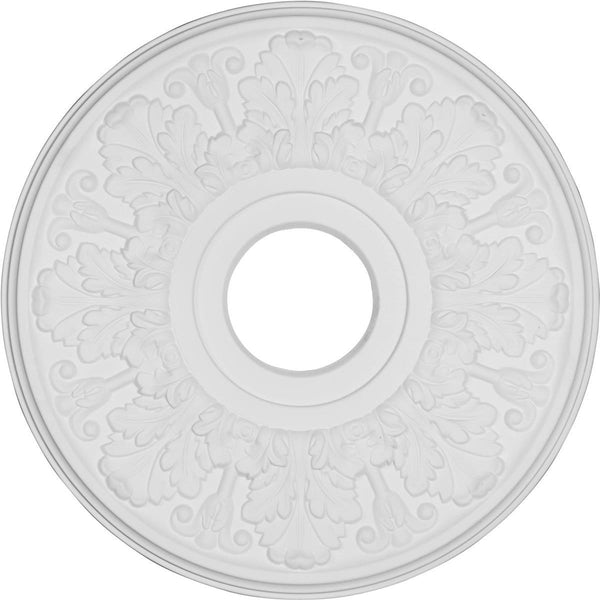 "Ceiling Medallion, Primed 15 1/2"" OD x 3 1/2""ID x 1 1/4""P"