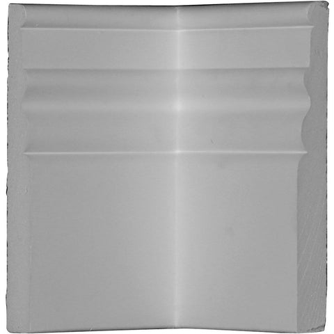 "Baseboard Moulding Inside Corner,5 7/8""H x 3 1/8""D, Usually ships in 2-3 days"