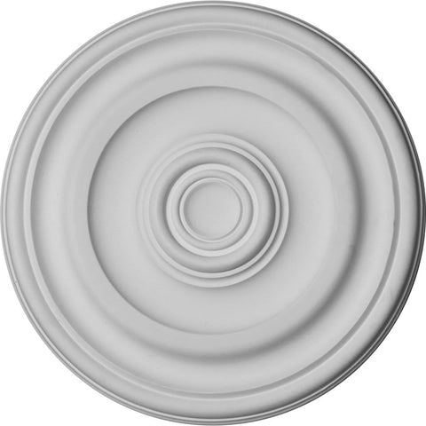 "Traditional Ceiling Medallion (For Canopies up to 2 5/8""), 11 7/8""OD x 1 1/4""P"