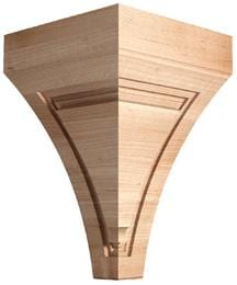 Art Collection Art Deco Corbel 8 W X 12 1 4 H X 8 D Mouldings Com