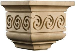 "Modern Classic Collection, Modern Corbel, 6 1/8""w x 5 1/4""h x 5 1/4''d"