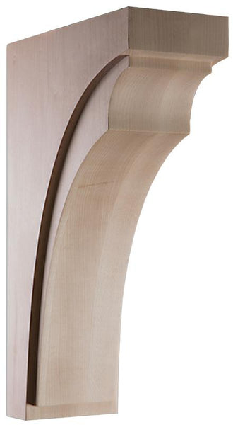 "Linea Collection, Modern Corbel, 4""w x 14""h x 9''d"