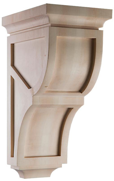 "Linea Collection, Modern Corbel, 6""w x 14""h x 7""d"