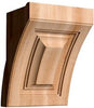 "Art Collection, Art Deco Corbel, 9""w x 12 1/4""h x 8''d"