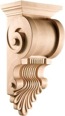 "Modern Classic Collection, Modern Corbel, 9 3/8""w x 19 5/8""h x 7 5/8''d"