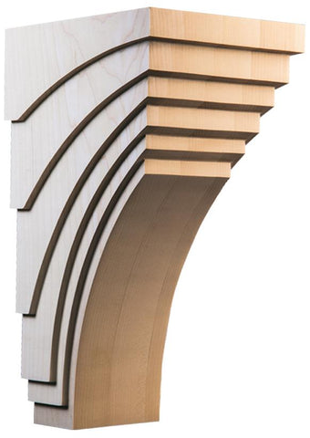 "New York Collection, Contemporary Corbel, 7""w x 14""h x 8''d"
