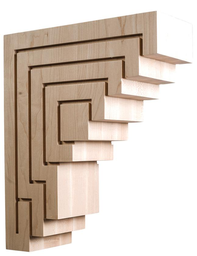 New York Collection Contemporary Corbel 5 W X 15 H X 12 1 4 D Mouldings Com