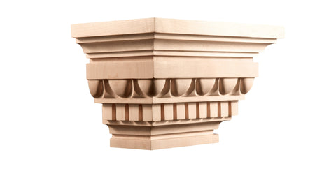 "Modern Classic Collection, Modern Capital,  12 3/4'""w x 7 1/2""h x6 3/4''d"