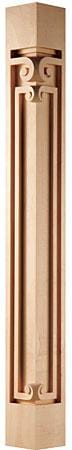 "Modern Classic Collection, Modern Corner Post, 2 3/4""w x 42""h x 2 3/4''d"