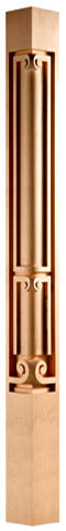"Modern Classic Collection, Modern Corner Post, 2 3/4""w x 40 1/2""h x 2 3/4''d"