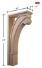 "Linea Collection, Modern Corner Post, 7""w x 35""h x 16''d"