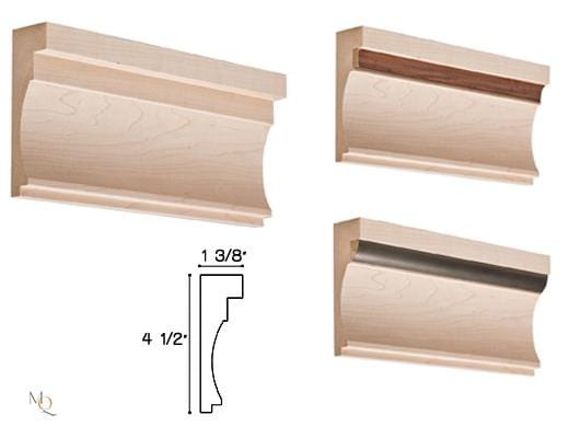 Multiplicity Collection, Transitional Moulding,  4 1/2''h x 1 3/8''d x 8' length